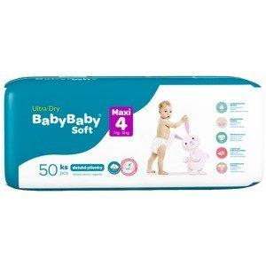 BabyBaby Soft Ultra-Dry Maxi 7-18 kg, 50ks