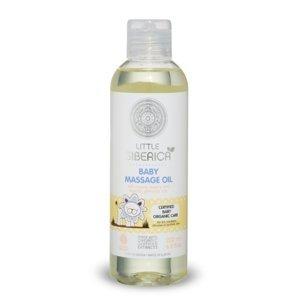 Detský masážny olej s prírodným šípkovým a pupalkovým olejom 200ml