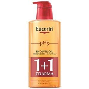Eucerin pH5 relipidačný sprchový olej pre citlivú pokožku 2x400 ml