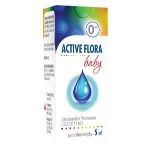 ACTIVE FLORA baby perorálne kvapky 5ml
