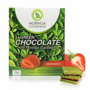Čokoláda s jahodami 70 g