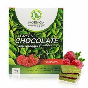 Čokoláda s malinami 70 g