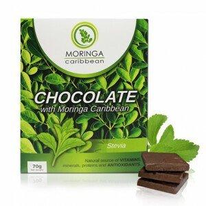 Horká čokoláda bez cukru so stéviou 70 g
