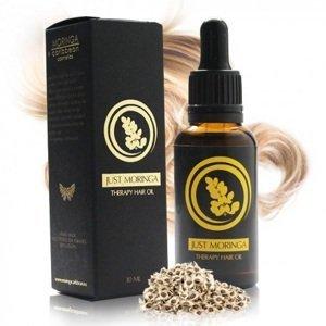 Just Moringa Olej proti lupinám a vypadávaniu vlasov 30 ml