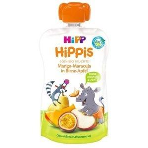 HiPP BIO 100% ovocie Hruška-Jablko-Mango-Marakuja 100 g