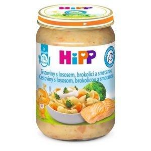 HiPP Cestoviny s lososom, brokolicou a smotanou 250 g
