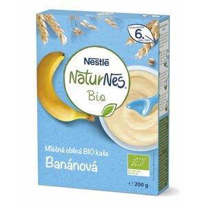 Nestlé NaturNes BIO Banánová mliečna obilná kaša 1x200 g