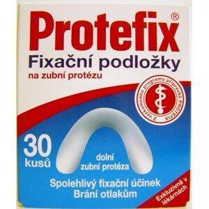 Protefix Fixačné podložky na dolnú zubnú protézu fixačná podložka 30ks