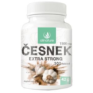 Allnature Česnek 1500 mg 100 tablet