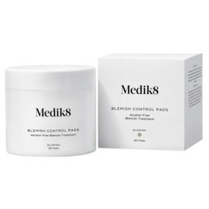 Medik8 Blemish Control Pads redukcia akné bez obsahu alkoholu 60 ks