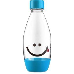 Sodastream Náhradná fľaša DETSKÁ 0.5l Smajlík Modrá