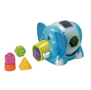 B-Kids Slon Jumbo s vkladacími tvarmi