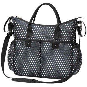 Baby Ono Štýlová taška na kočík BASIC SO CITY čierno biela