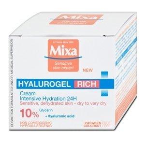 Mixa Sensitive Skin Expert Hyalurogel Rich intenzívna hydratačná starostlivosť 50ml