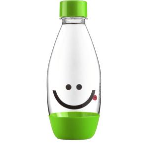 Sodastream Náhradná fľaša detská zelená Smajlík 0,5l