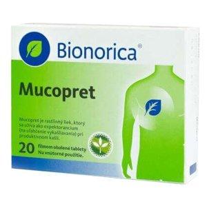 Bionorica Mucopret 60mg/160mg 20 tabliet