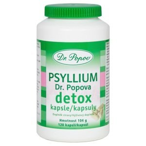 Dr. Popov Psyllium Detox 120cps