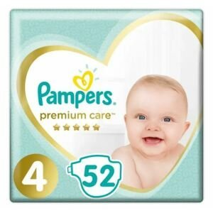 Pampers Premium Care S4 52ks, 9-14kg