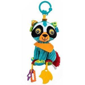 BalibaZoo - závesná hračka s hryzátkom Mýval Randy, od 0m