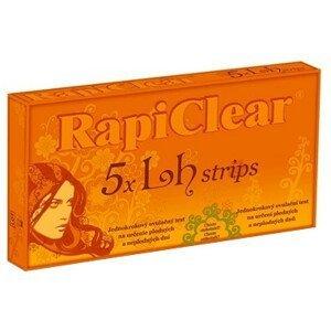 RapiClear 5 x LH strips jednokrokový ovulačný test 5 ks
