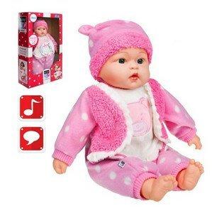 II. akosť Slovensky hovoriaca a spievajúca detská bábika PlayTo Marika 46 cm (len 1 ks)