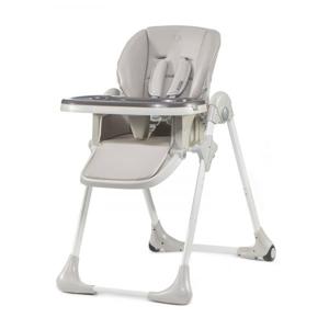 Kinderkraft YUMMY Detská jedálenská stolička sivá