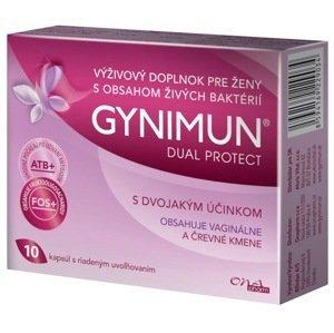 GYNIMUN DUAL PROTECT s riadeným uvoľňovaním 10 kapsúl