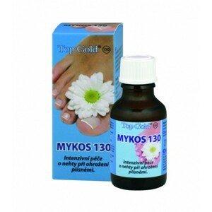 TOP GOLD Mykos 130 silná starostlivosť o nechty pri ohrození plesňami 20 ml