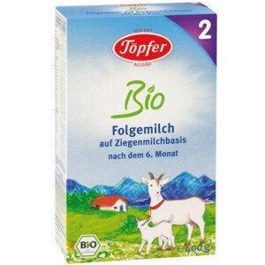 Topfer Kozie mlieko BIO 2 od 6 mesiaca 400 g