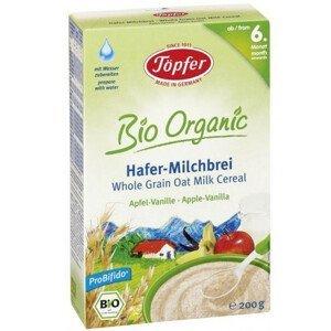 Topfer Celozrnné ovsené mliečne cereálie s jablkom a vanilkou od 6 mesiaca 200 g