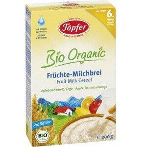 Topfer Mliečne cereálie s ovocím (jablko, banán a pomaranč) od 6 mesiaca 200 g