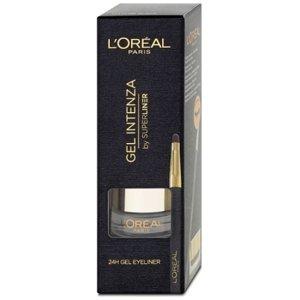 L'Oréal Paris Gel Intenza by Superliner 01-Pure Black očná linka 2,8g