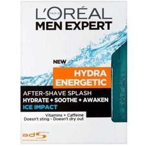 L'Oréal Paris Men Expert Hydra Energetic Ice Impact voda po holení 100ml