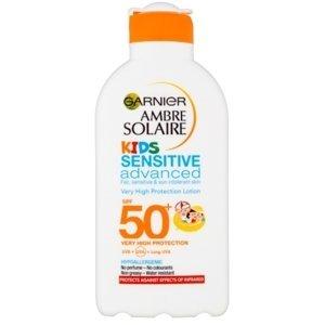 Garnier Ambre Solaire Ochranné mlieko pre deti OF50+ 200ml