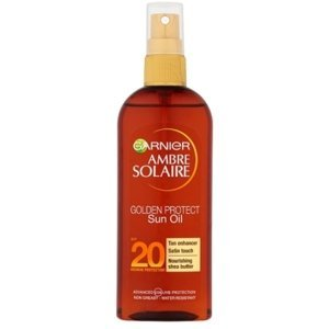 Garnier Ambre Solaire Golden Protect olej na opaľovanie OF20 150ml