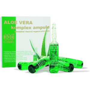 EVA Aloe Vera regeneračné ampuly proti vypadávaniu vlasov 5x10 ml