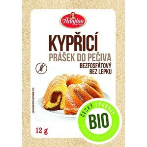 Amylon Kypriaci prášok do pečiva BIO bezgluténový