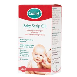 Colief Baby Scalp Oil detský olej na pokožku hlavy 30ml