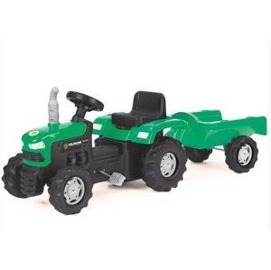 BUDDY TOYS Pedálový traktor BPT 1013 Pedálový tr. s voz.