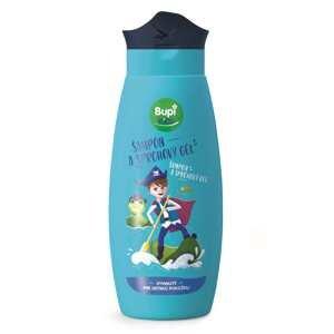 Bupi KIDS Šampón a sprchový gél modrý 250ml