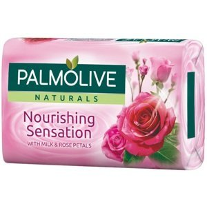 Mydlo Palmolive Naturals mlieko a růže - růžové 90g