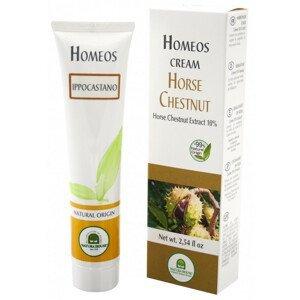 Homeos cream PAGAŠTAN KRÉM 10% extrakt z Pagaštanu konského 75ml