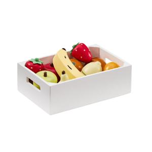 Kids Concept Ovocie v debničke drevené Bistro