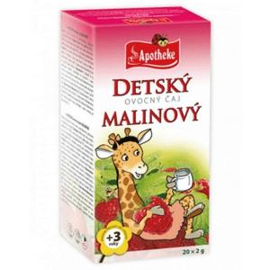 Apotheke Detský ovocný čaj malinový 20x2g