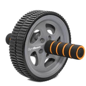 GymBeam Posilňovacie koliesko Ab Wheel - black
