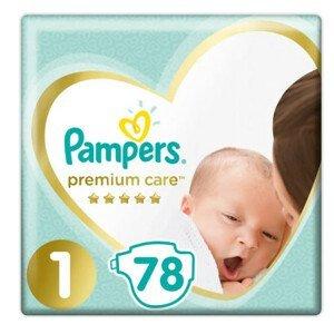 Pampers Premium Care S1 78ks, 2-5kg