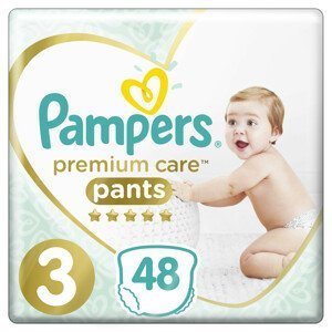 Pampers Premium Care Pants S3 48ks, 6-11kg