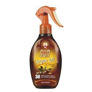 Vivaco Opaľovací olej s arganovým olejom SPF30 200ml