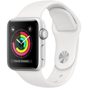 Apple Smart hodinky Watch Series 3 GPS 38mm Silver Al