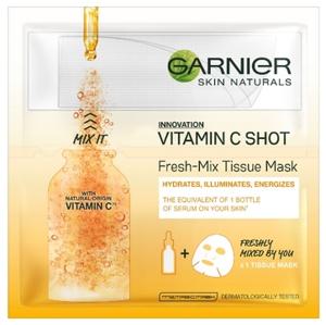 Garnier Skin Active textilná maska Fresh-Mix s vitamínom C